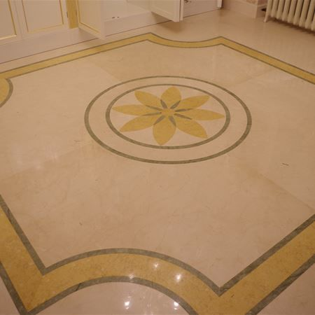 Marble, granite and natural stone floorings