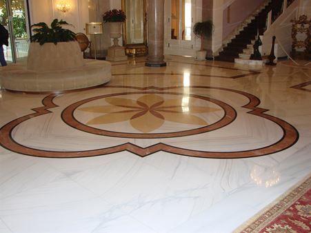 Marble, granite and natural stone floorings
